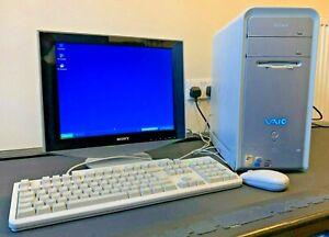 """Sony Vaio PCV-RS502 + Sony 15"""" SDM-HS53 Screen"""