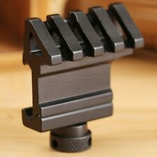 45Degree Angle Offset Side 20mm Rail Weaver Picatinny Base Mount for Rifle Scope