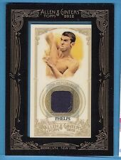 MICHAEL PHELPS WORN RELIC SWATCH CARD ALLEN & GINTER 2016 USA OLYMPIC SWIMMING