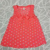 Disney Lauren Conrad Womens Minnie Mouse Rocks the Dots Polka Dot Heart Top XS