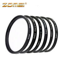 Zomei Pro Macro Close-up Lens Filter Kit Set 77MM +1+2+3+4+8+10 for Camera DSLR