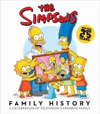 THE SIMPSONS FAMILY HISTORY A Celebration of Television's Favorite Family hcdj