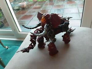 TOMY ZOIDS MAMMOTH THE DESTROYER COMPLETE WITH INSTRUCTIONS 1980'S