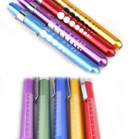 Medical EMT Surgical Penlight Pen Light Flashlight Torch With Scale First Aid