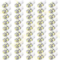 50X White T10 Wedge 5050 LED Light bulbs for Malibu 12V AC/DC Landscape Light