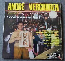 Andre Verchuren, comme au bal, LP 33 tours 25 cm