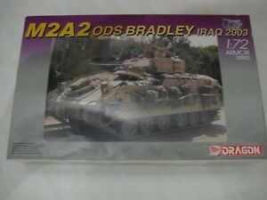 DRAGON 1/72 SCALE TANK M2A2 ODS BRADLEY IRAQ 2003