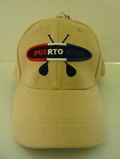 PUERTO RICO PADDLE BOARD KAYAK EMBROIDERY ADULT CAP HAT one size ADJUSTABLE
