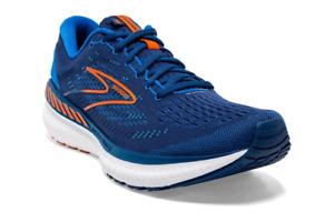 Brooks Glycerin 19 GTS Herren Laufschuhe Blau Run Sport Sneakers 1103571D461