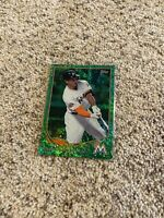 2013 Topps #127 GIANCARLO STANTON Miami Marlins GREEN SPARKLE SP NM