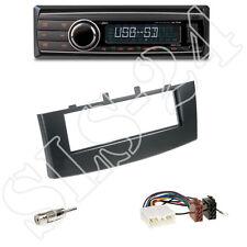 Caliber rmd212 SD Radio + Mitsubishi Colt 1-din Panneau Black + Adaptateur ISO