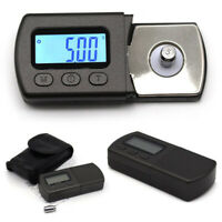 LCD Digital Turntable Cartridge Tracking Stylus Force Scale Gauge with 5g Weight