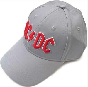 Baseball Cap AC/Dc Hat Grey, Music Souvenir, New