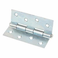 Pack of 2 Door New Butt Hinge Self-Colour 25 x 19mm Cabinet Toy box Chest