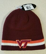 Top of the World Adult VIRGINIA TECH HOKIES Reversible Knit WINTER Hat #150216