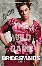Melissa McCarthy Signed Bridesmaids 11x17 Movie Poster COA