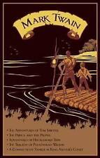 Mark Twain: Five Novels by Mark Twain (Leather / fine binding, 2011)