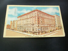 Vintage Postcard- The Claypool Hotel, Indianapolis, Indiana
