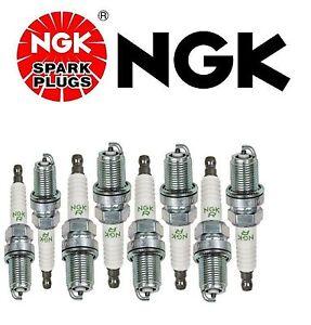 8 NGK Spark Plug-V-Power for BENTLEY ARNAGE CONTINENTAL GEO JAGUAR LEXUS MERCE.