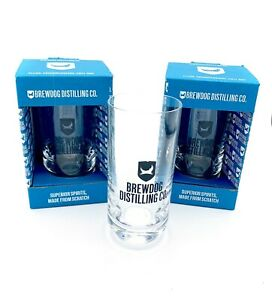 2 TWIN Brew Dog 12floz Glasses Gift Boxed Home Bar