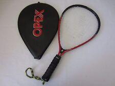 Ektelon Opex Small 1OZ Racquetball Racquet Red/Black with Case