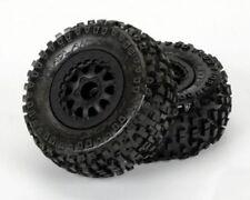 Pro-Line 1182-13 Badlands Short-Course Tires on Renegade Wheels for Slash 4x4