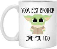 11 Oz Coffee Mug Best Brother Ever Yoda Best Brother Mug Best Brother Gift