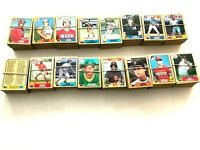 Topps 1987 Baseball Card Collection 3 Famous Rookie Cards Included