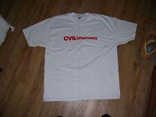 CVS/Pharmacy Vintage T-Shirt men's size-XL (46-48) Brand New Drug Store logo TEE