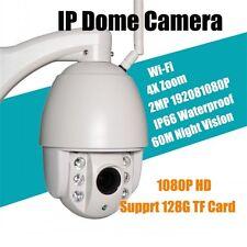 2.0MP PTZ WIFI ip outdoor camera 4X Zoom HD Network CCTV Dome 1080P Camera