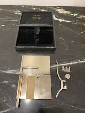 Rare Antique Ashcroft Coffin Averaging Planimeter Patent Applied For New York