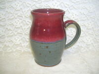 HANDCRAFTED GLAZED POTTERY MUG 1998 SIGNED ROGER YOUNG 1998