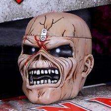 More details for nemesis now iron maiden eddie the trooper head trinket box figurine 18cm