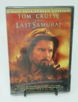 THE LAST SAMURAI 2-DISC DVD MOVIE, TOM CRUISE, TIMOTHY SPALL, BILLY CONNOLLY, FS