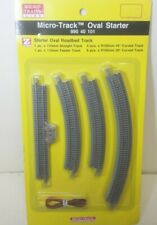 Micro Trains Line Z Scale 990 40 101 Oval Starter Track Set W/ RoadBed