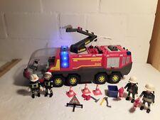 Playmobil Flughafenlöschfahrzeug Feuerwehr 5337