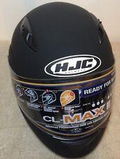 NWT HJC CL-Max II Flip Up Modular Helmet DOT Size L Color Matte Black