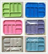 Dental Instrument tray Autoclavable Plastic Tray Flat 1 Pcs Any Color Dental Use