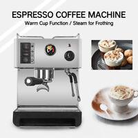 Household Electric Semi-automatic Espresso Coffee Machine Maker 3.5L LED Lamp