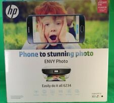 HP Envy Photo 6234 All-in-One Wireless Inkjet Printer with ink tested