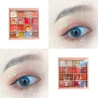Make-Up Eyeshadow Palette Glitter Eye Shadow Pearlescent heiß Highlighte Q2I5