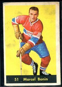 1960-61 Parkhurst 51 Marcel Bonin