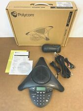 Polycom Soundstation 2 Expandable Conference Phone With Display ✅��� New