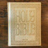 Vintage Holy Bible King James Red Letter Reference Edition Family 1968 Royal Pub