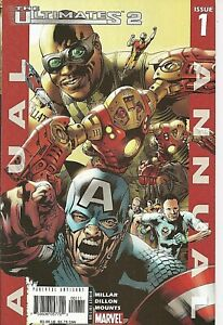 °THE ULTIMATES ANNUAL #1 THE RESERVES° Marvel US 2005 Mark Millar