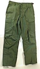 Original Vietnam War Og-107 1967 Dated Cotton Poplin Jungle Trousers, Size S-R