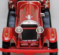 1920s Ford Fire Truck Vintage Antique A 1 T Metal Model 24 Engine Pickup Car 18