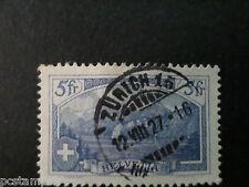 SUISSE SCHWEIZ, 1914, timbre 143, LE RUTLI, oblitéré, VF STAMP LANDSCAPE