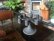 More details for vintage robert welch 8 armed cast iron candle holder 83811 in original box.