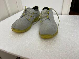 ECCO Golf Men's Hydromax Shoes Gray/yellow Size 11 US